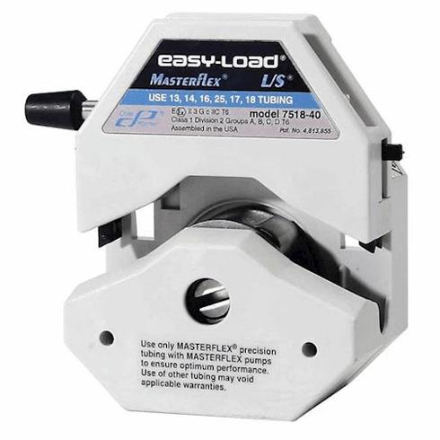De L/S Atex Zone 2 Easy-Load pompkop is een compacte pompkop waarmee de pompslang zeer eenvoudig en snel verwisseld kan worden.